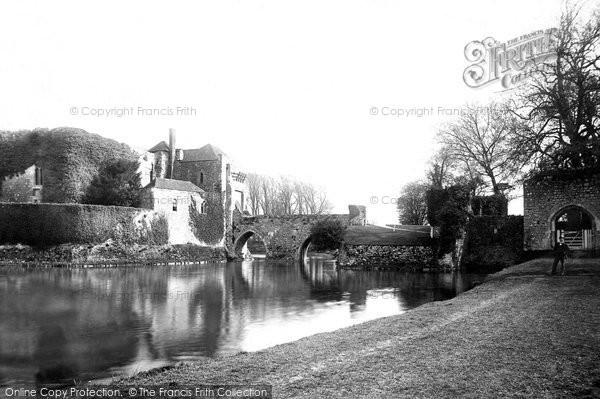Photo of Leeds, Castle, Constable Gate 1892