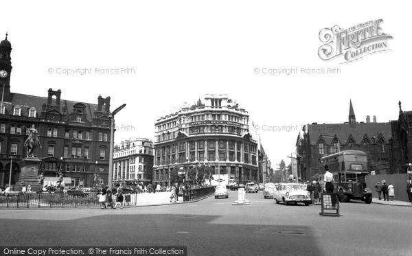 Photo of Leeds, City Centre c.1965