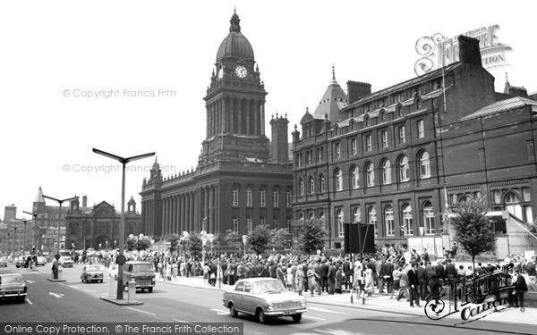 Photo of Leeds, City Hall 1964