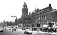 Leeds, City Hall 1964