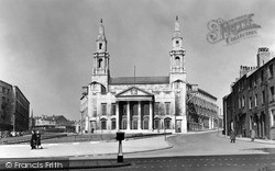 Leeds, Civic Hall c.1955