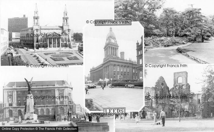 Photo of Leeds, Composite c.1965