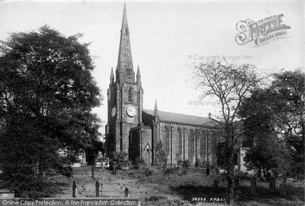 Photo of Leeds, Kirkstall, St Stephen's Church 1894