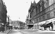 Leeds, New Briggate c1955