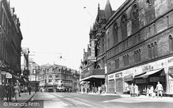 New Briggate c.1955, Leeds