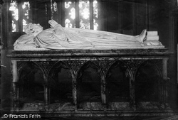 Leeds, Parish Church, Dean Hook's Tomb 1891