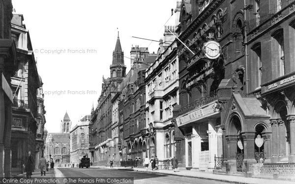 Photo of Leeds, Park Row c.1955