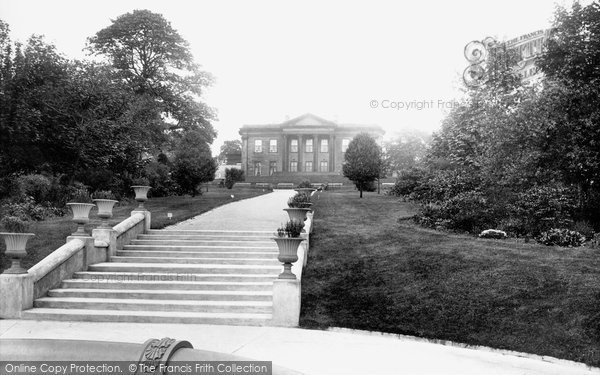 Photo Of Leeds Roundhay Park And Mansion 1897