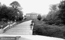 Leeds, Roundhay Park And Mansion 1897