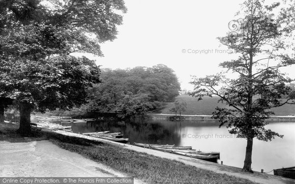 Photo of Leeds, Roundhay Park Boat Station 1897