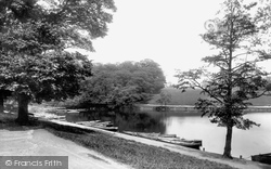 Leeds, Roundhay Park Boat Station 1897