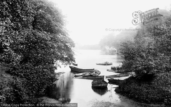 Photo of Leeds, Roundhay Park Lake 1897