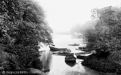 Roundhay Park Lake 1897, Leeds