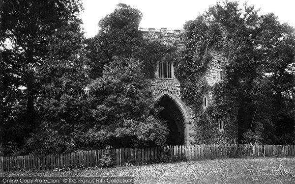 Photo of Leeds, Roundhay Park Ruin 1897