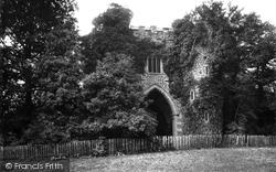 Roundhay Park Ruin 1897, Leeds