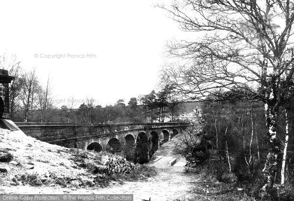 Photo of Leeds, Seven Arches Aqueduct, Alwoodley 1891