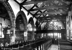 Leeds, St John's Church Interior 1897