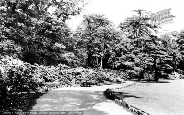 Photo of Leeds, Temple Newsam Gardens c.1960