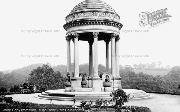 Photo of Leeds, The Fountain At Roundhay Park 1888