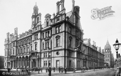 Leeds, The Post Office And Revenue Office 1897