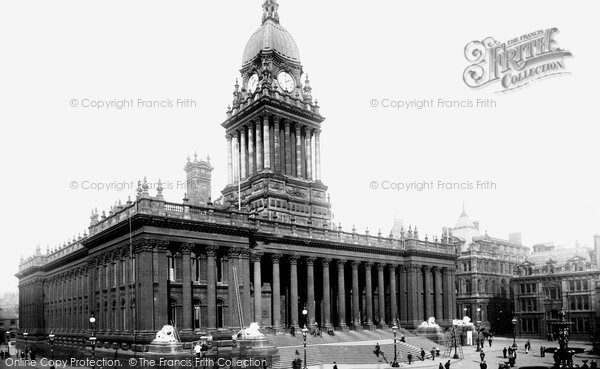 Photo of Leeds, The Town Hall 1894