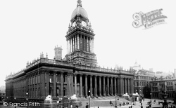Leeds, The Town Hall 1894