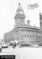 Leeds, The Town Hall c.1960