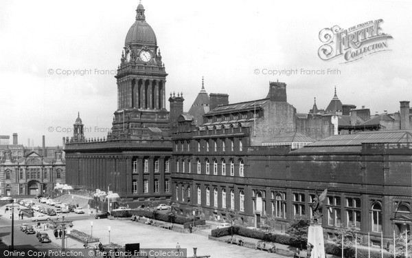 Photo of Leeds, The Town Hall c.1965