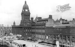The Town Hall c.1965, Leeds