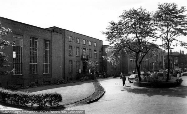 Photo of Leeds, Union And University Buildings c.1960