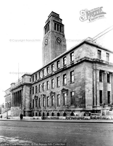 Photo of Leeds, University, Parkinson Building c.1960