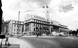 University, The Parkinson Building c.1960, Leeds