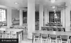 Leeds, University, The Union Buliding Cafeteria c.1960
