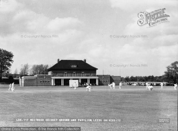 Photo of Leeds, University, Weetwood Cricket Ground And Pavilion c.1960