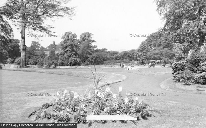 Photo of Leek, Brough Park c.1955