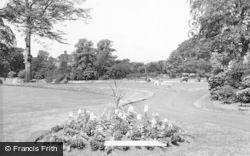 Leek, Brough Park c.1955