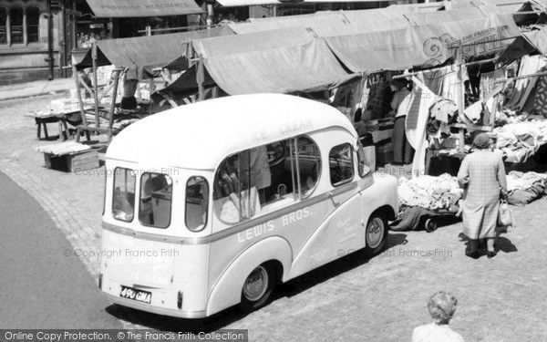 Photo of Leek, Ice Cream Van 1959