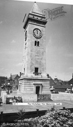 Leek, Nicholson War Memorial c.1955