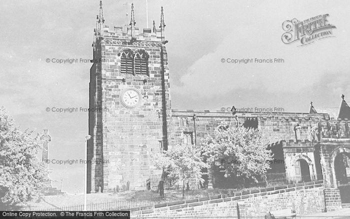 Photo of Leek, St Edward's Church c.1950