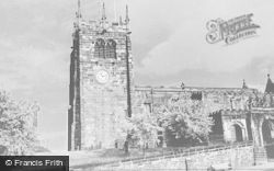 Leek, St Edward's Church c.1950