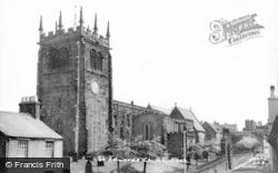 Leek, St Edward's Church c.1955
