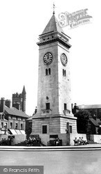 Leek, The Monument c.1955