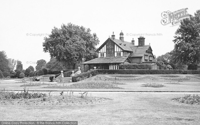 Photo of Leicester, Abbey Park c.1955