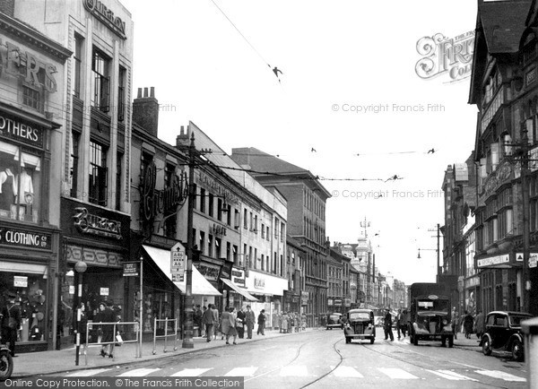 Photo of Leicester, Belgrave Gate 1949