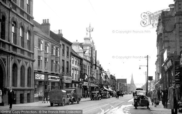 Photo of Leicester, Belgrave Gate c.1949