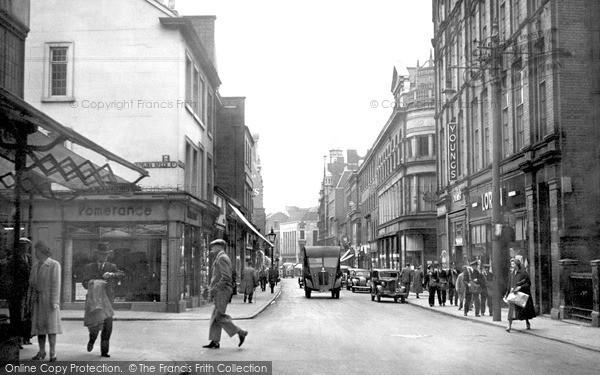 Leicester, Belvoir Street c1949