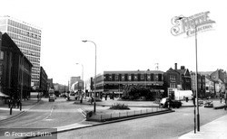 Charles Street And Belgrave Gate c.1965, Leicester