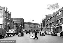 Charles Street c.1950, Leicester