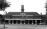 Leicester, City Headquarters For The Fire Brigade, Lancaster Road 1960