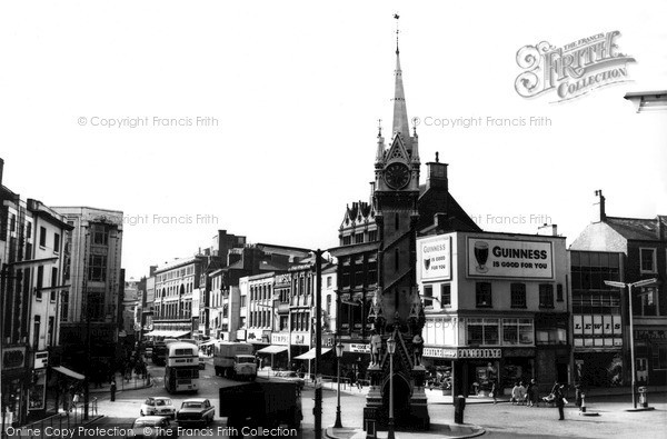Photo of Leicester, Clock Tower c.1965